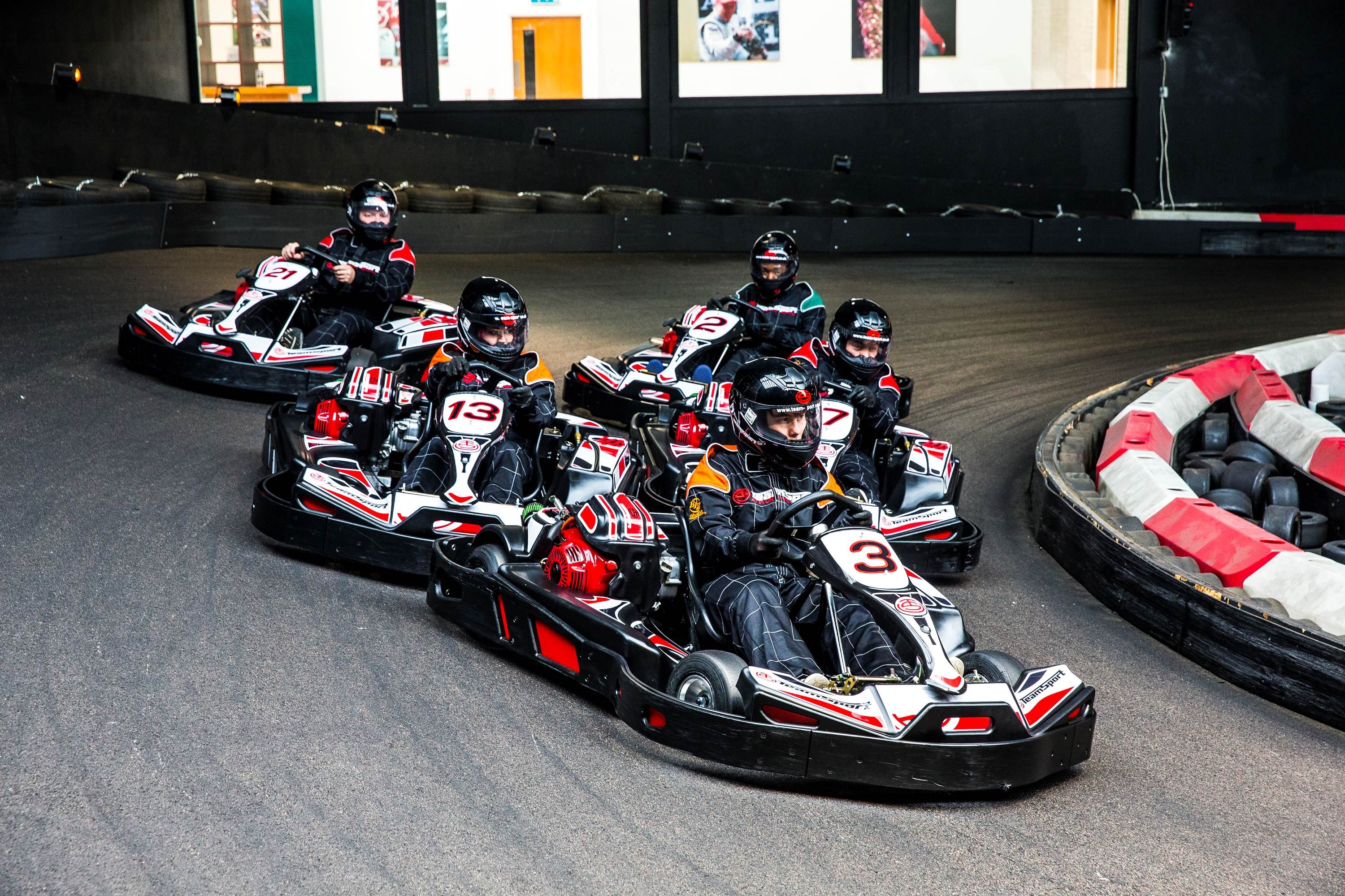 Corporate Go Karting Cardiff - Corporate Mini-Grand Prix