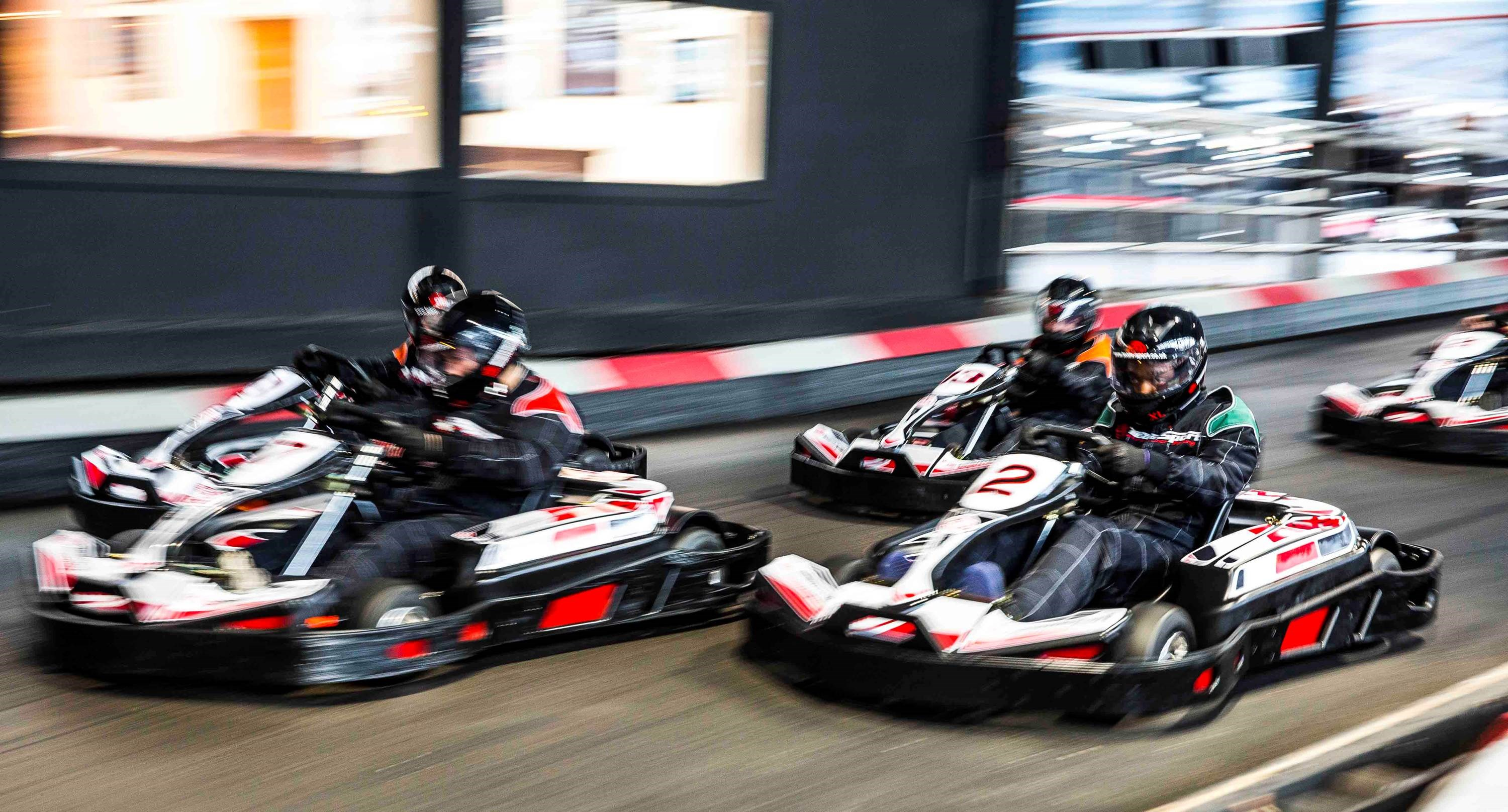 Corporate Go Karting Gosport - Team Racing