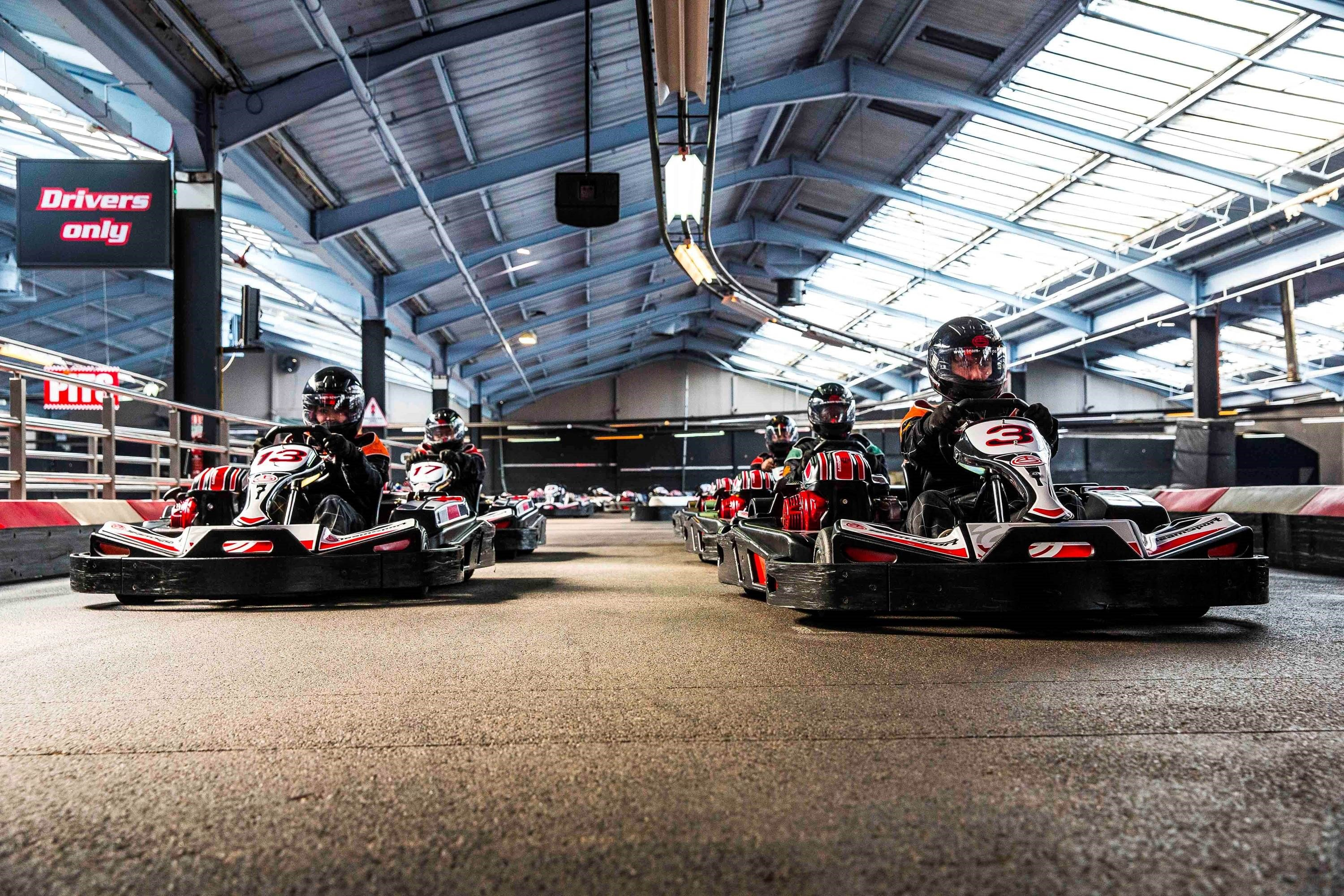 GO KARTING FOR 12+ DRIVERS - SUPER GRAND PRIX EVENTS
