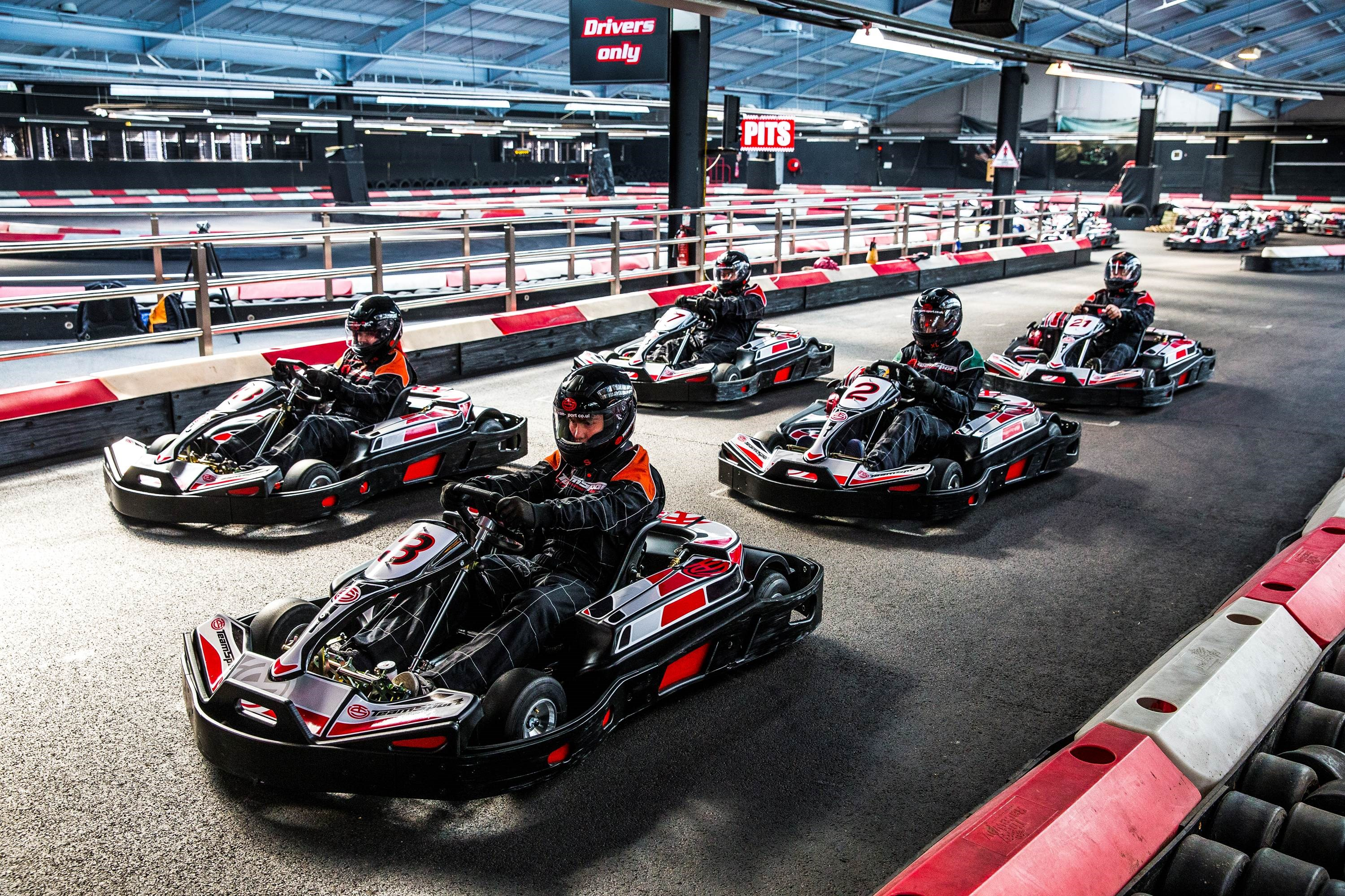 Corporate Go Karting Cardiff - Super Grand Prix Events