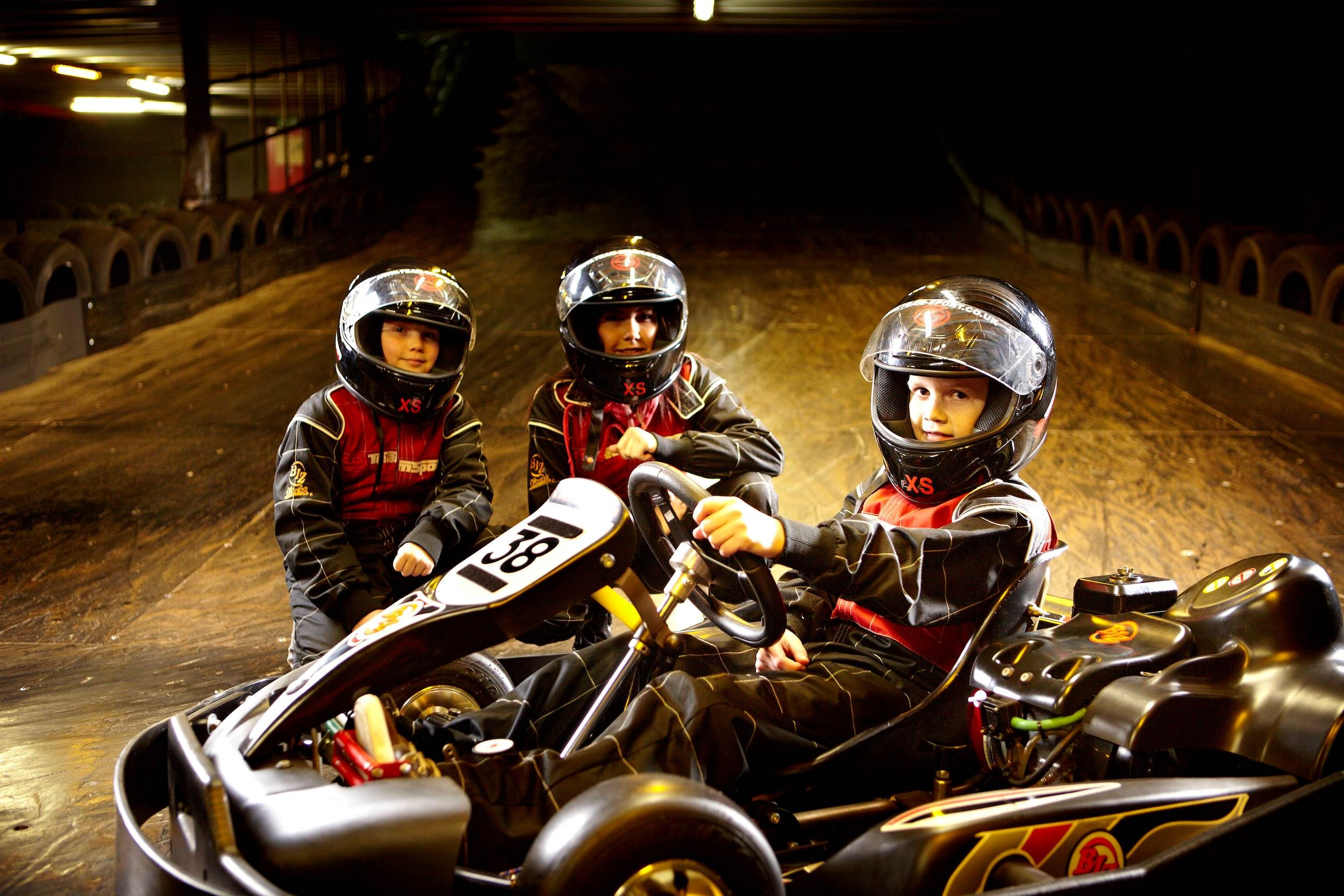 Family Go Karting - Junior & Teen Track Days