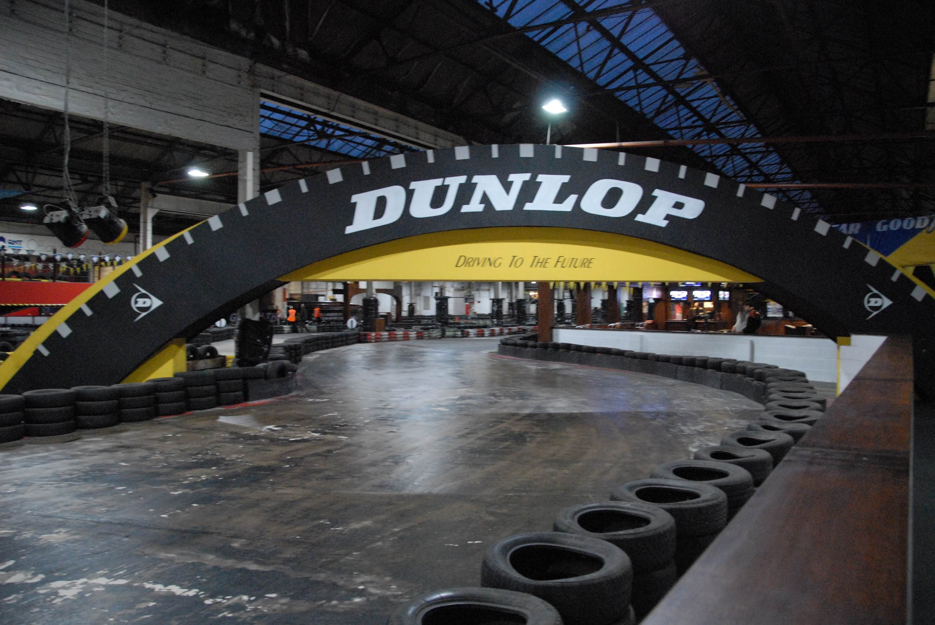 TeamSport Karting Warrington Dunlop bridge no kart.JPG