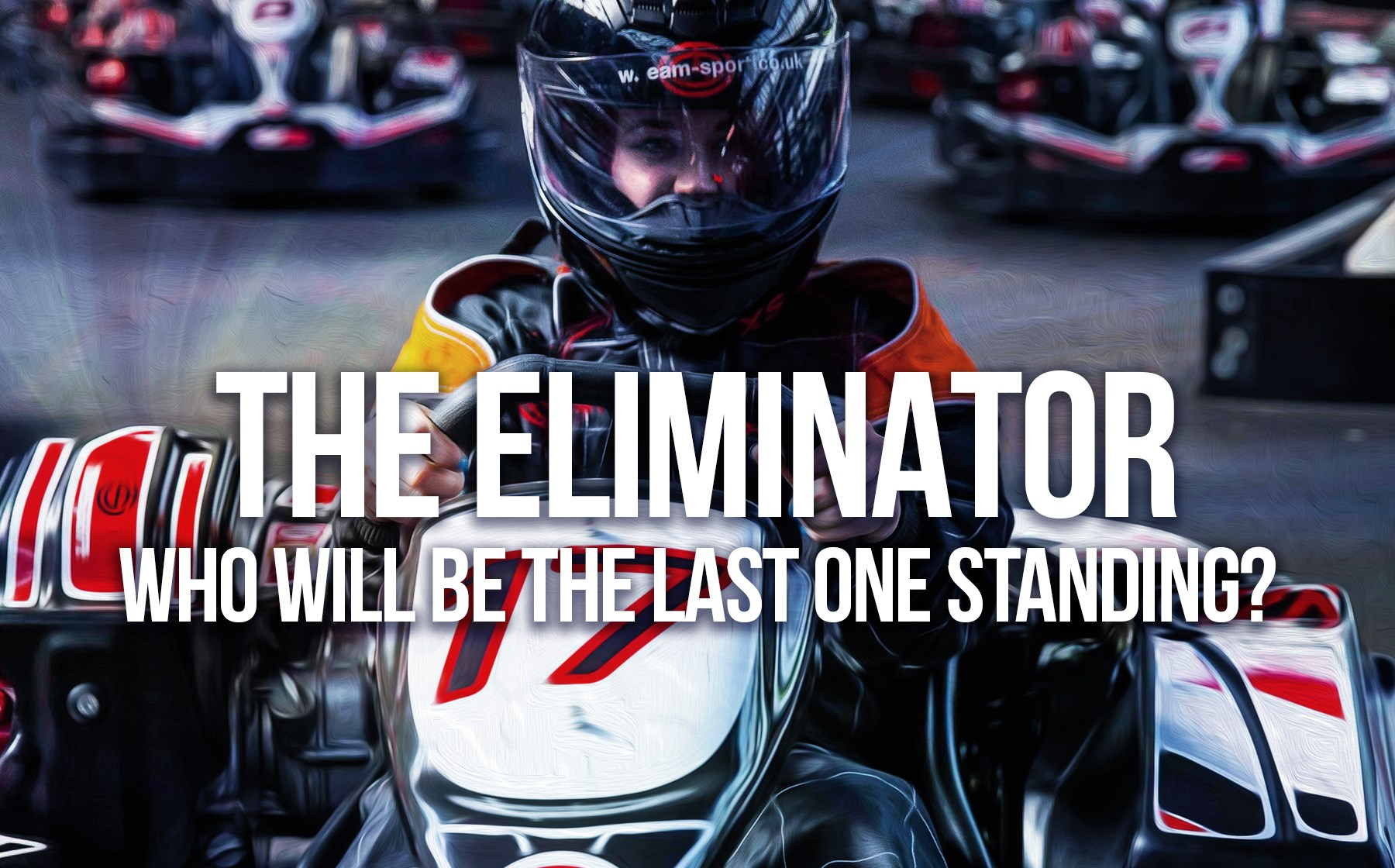 GO KART RACING FOR 1-12 DRIVERS - The Eliminator
