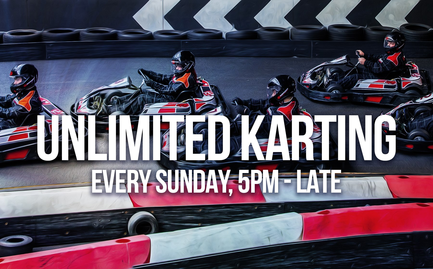 GO KART RACING FOR 1-12 DRIVERS - Unlimited Karting