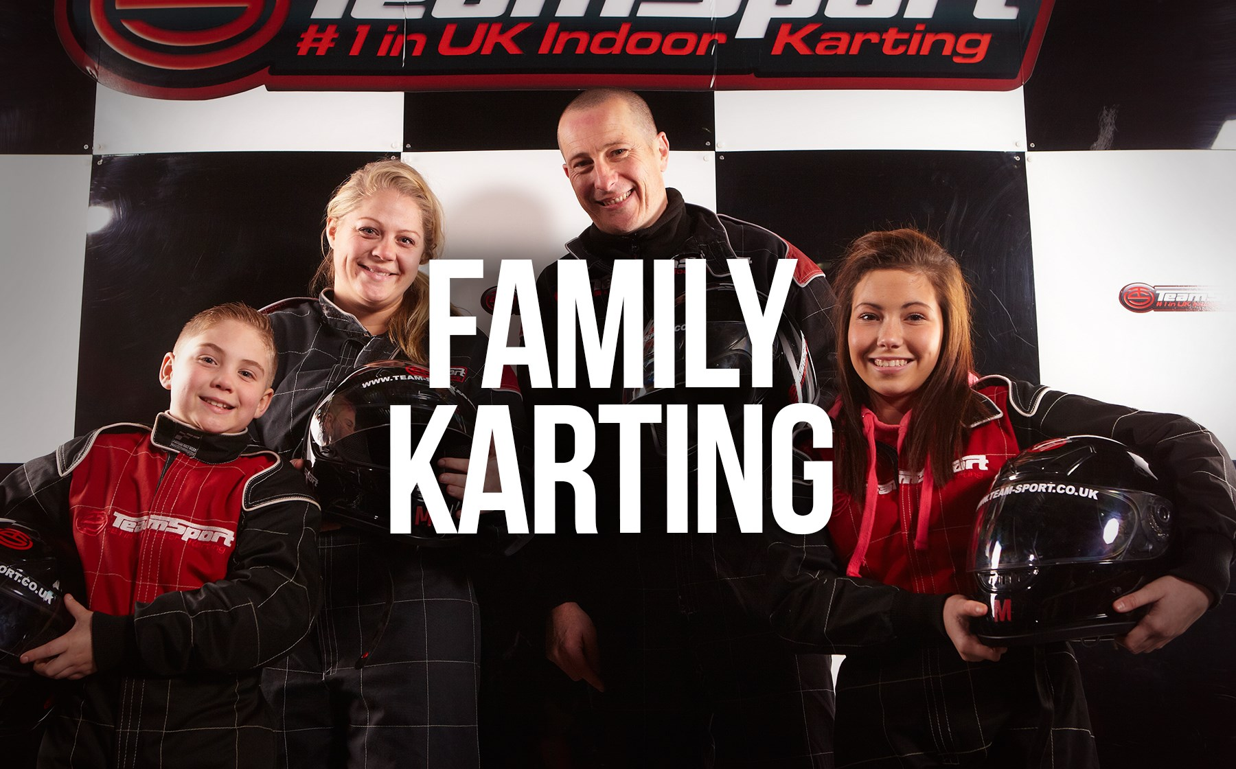Indoor Go Karting  Events Gosport - Family