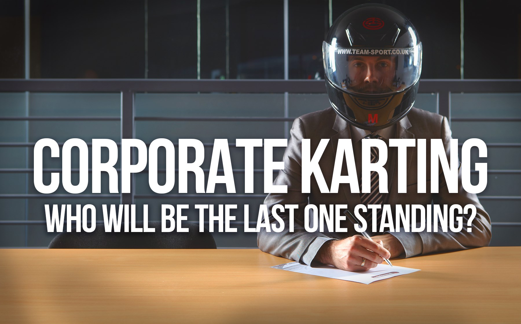 Indoor Go Karting  Events Gosport - Corporate