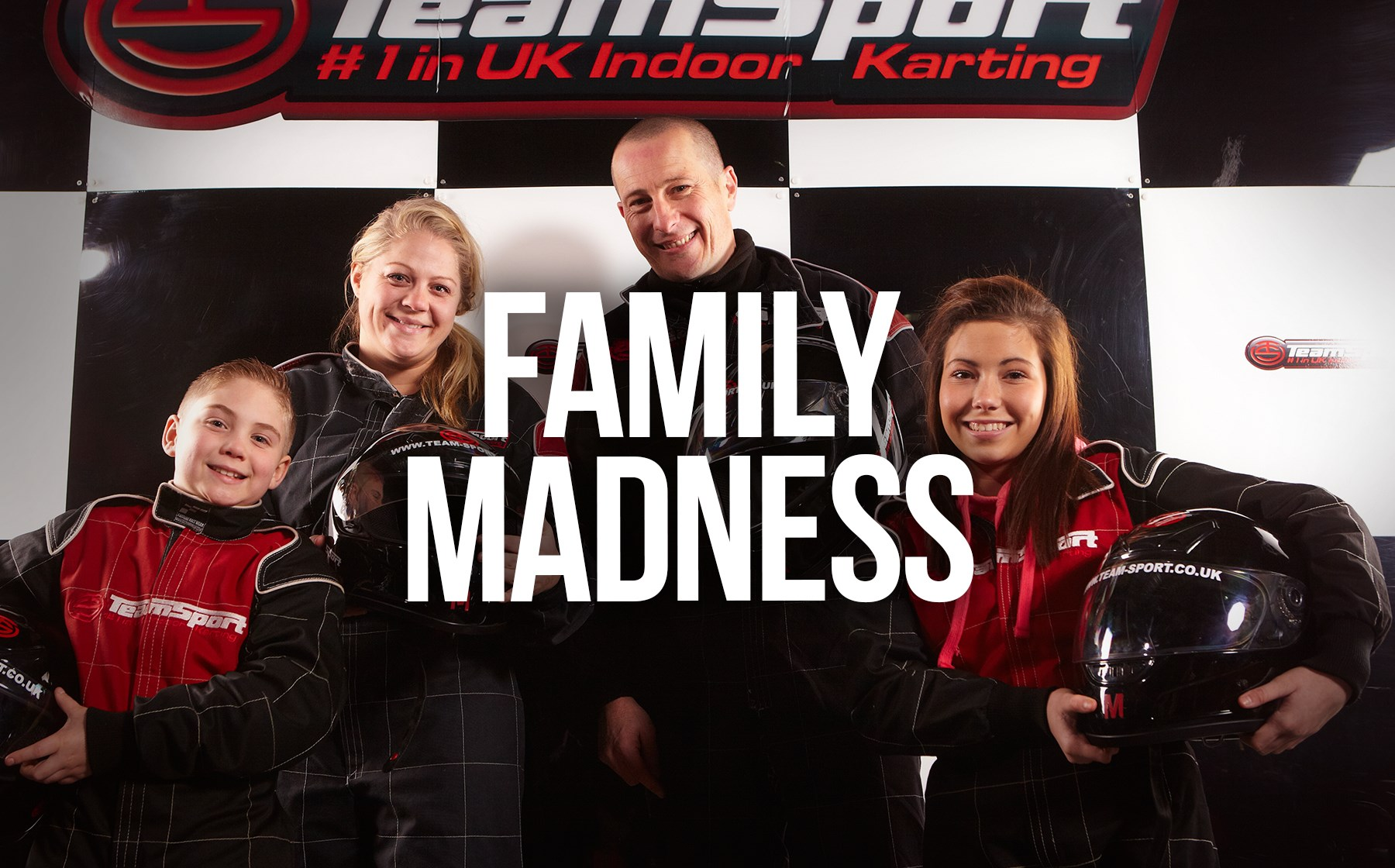 Family Go Karting - Family Madness