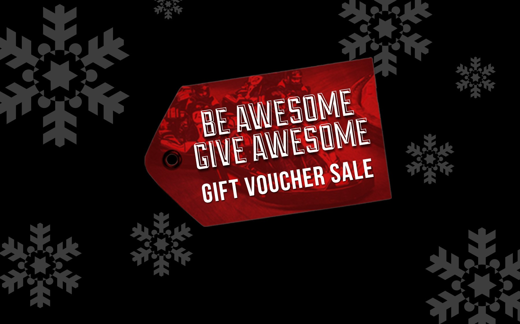 GO KARTING OFFERS - Christmas Voucher Sale