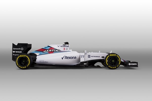Williams Martini Racing Car 2015