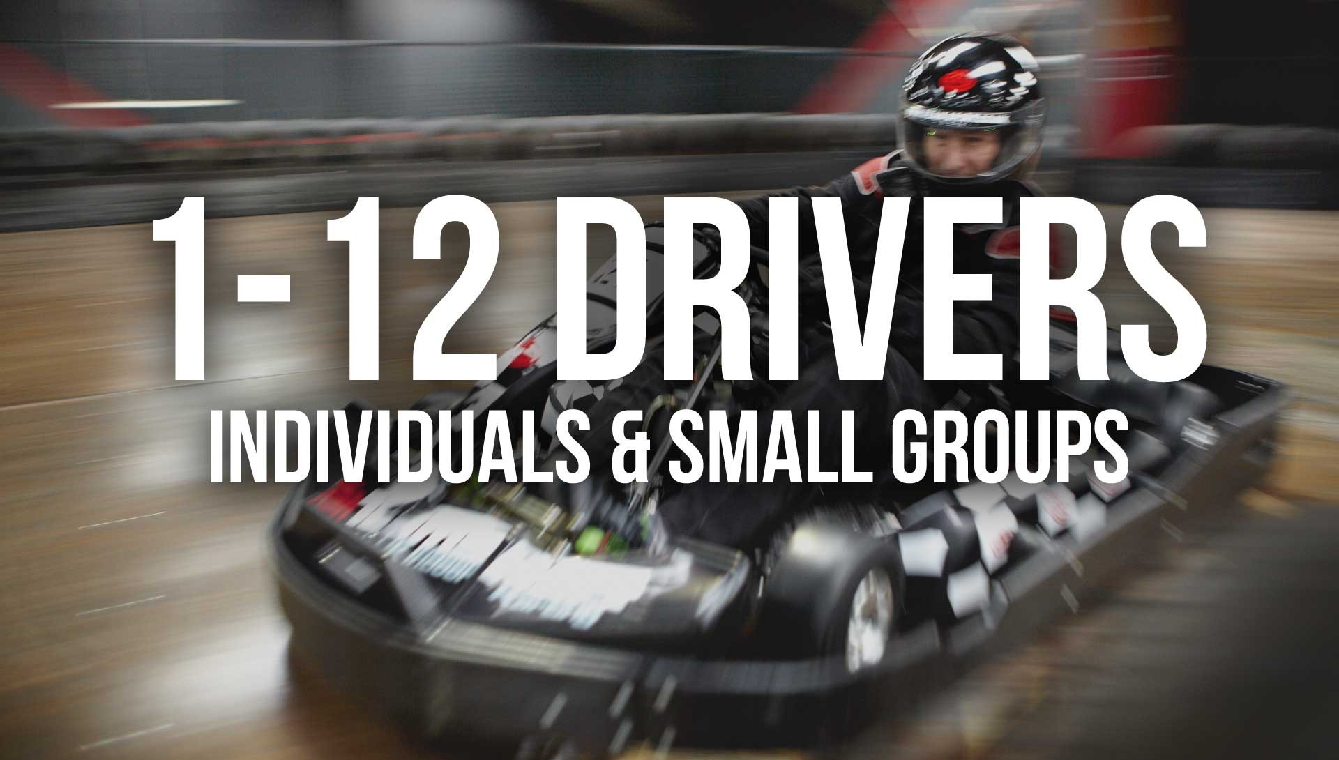 Indoor Go Karting  Events Brighton - Individuals and Small Groups
