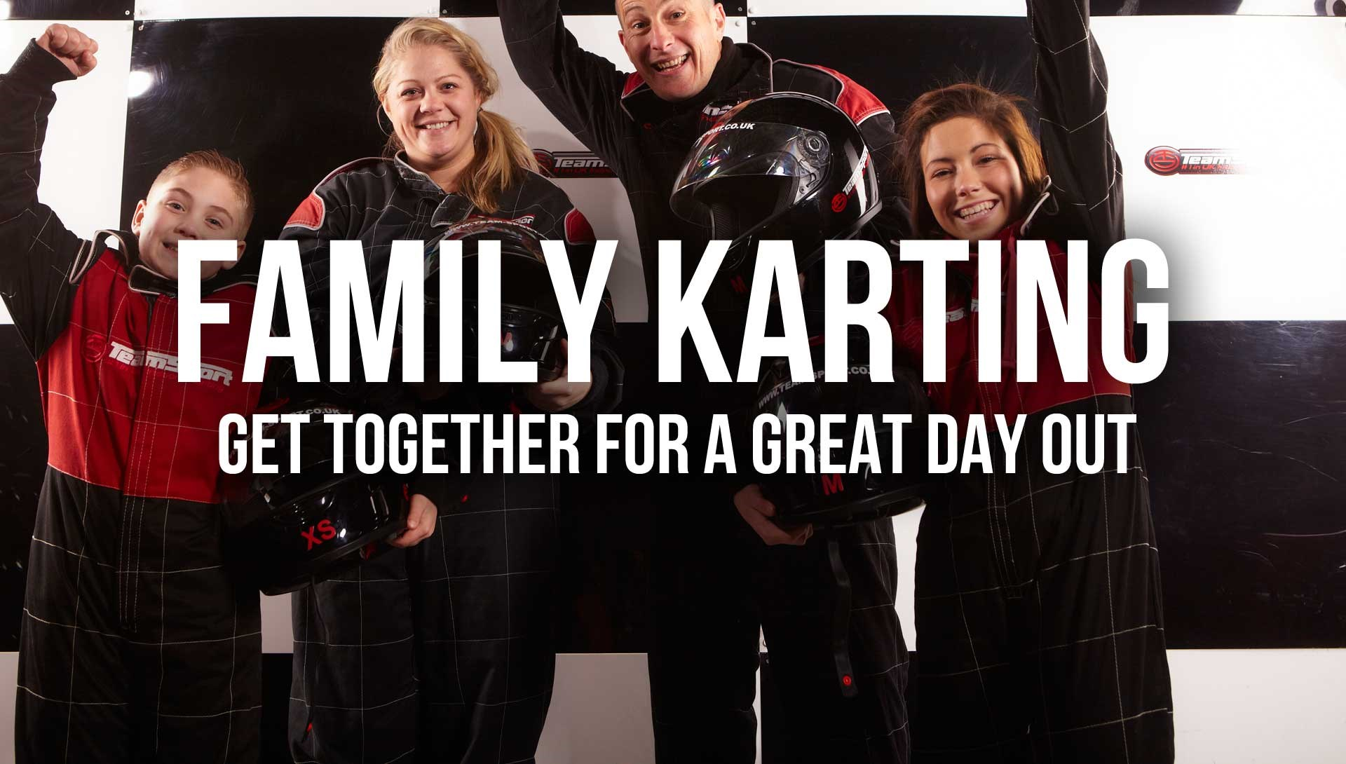 Indoor Go Karting  Events Brighton - Family