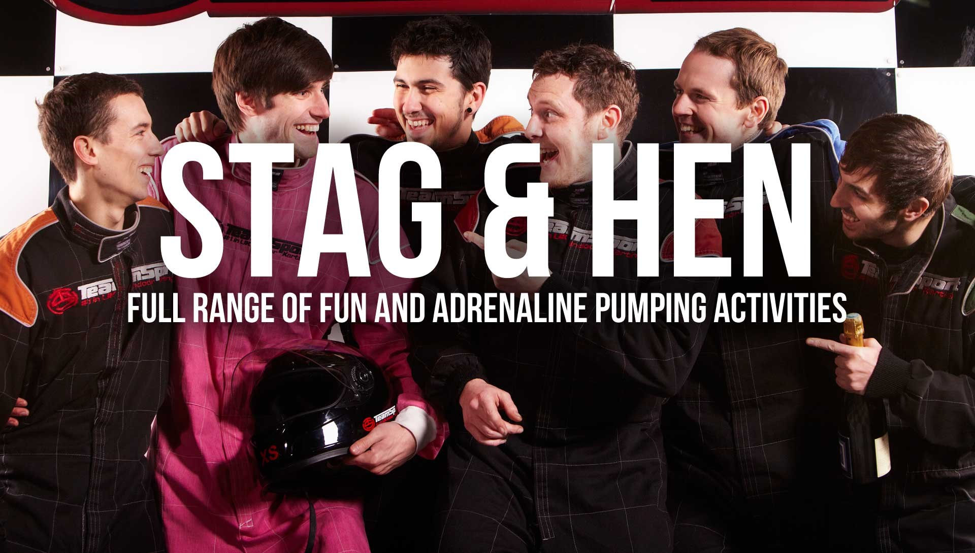 Go Kart Racing Events - Stag & Hen
