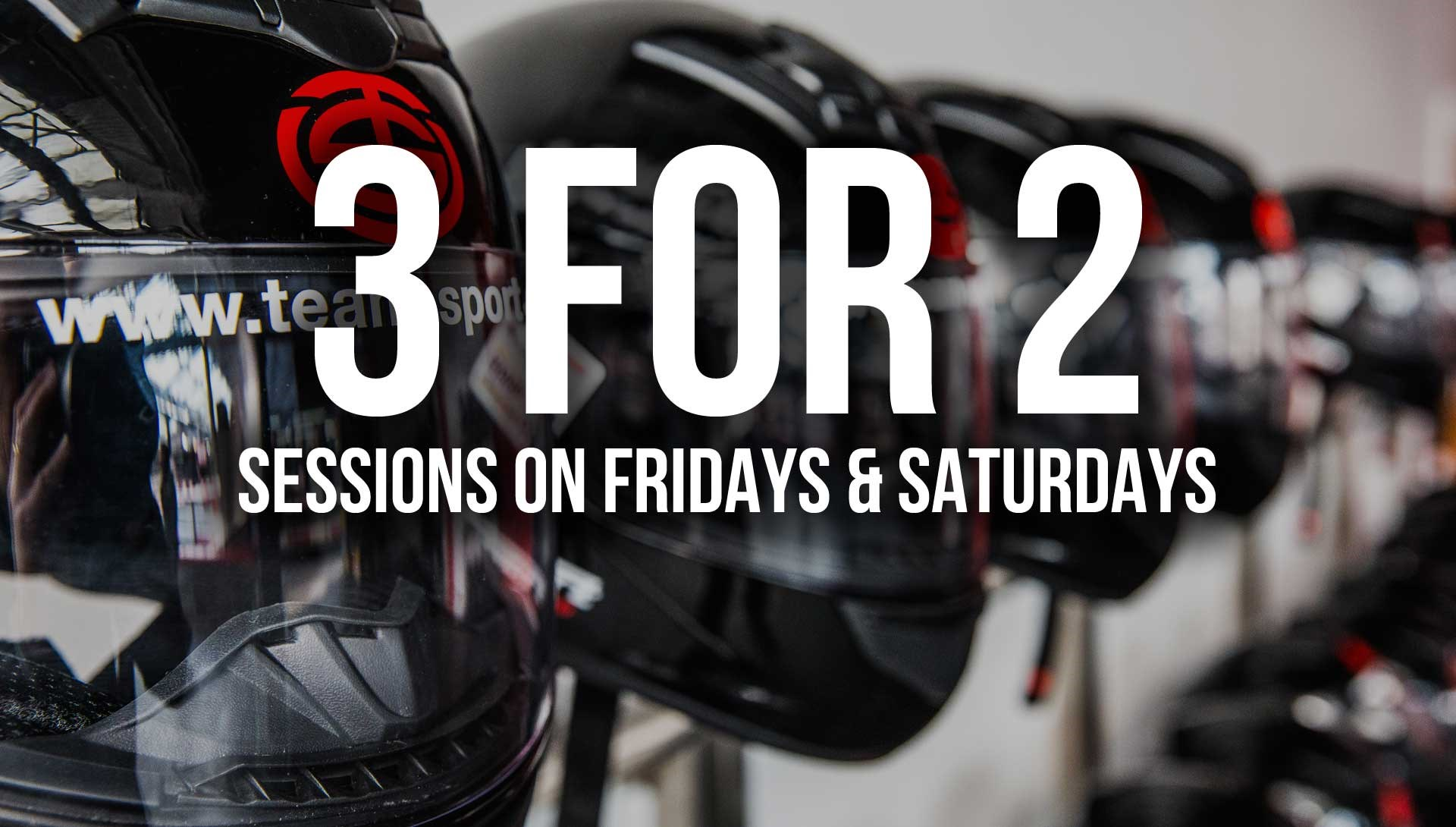 GO KARTING OFFERS - 3 FOR 2