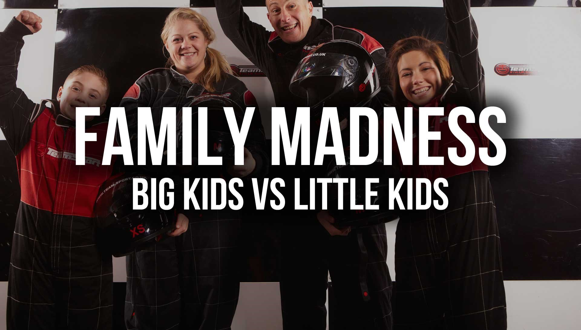 Kids Go Karting Liverpool - Family Madness