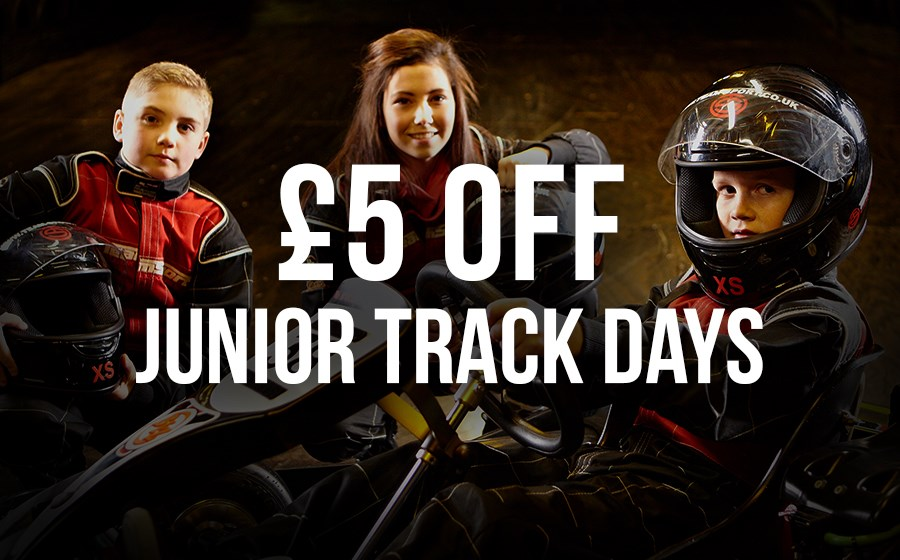 GO KARTING OFFERS - £5 OFF HALF TERM TRACK DAYS