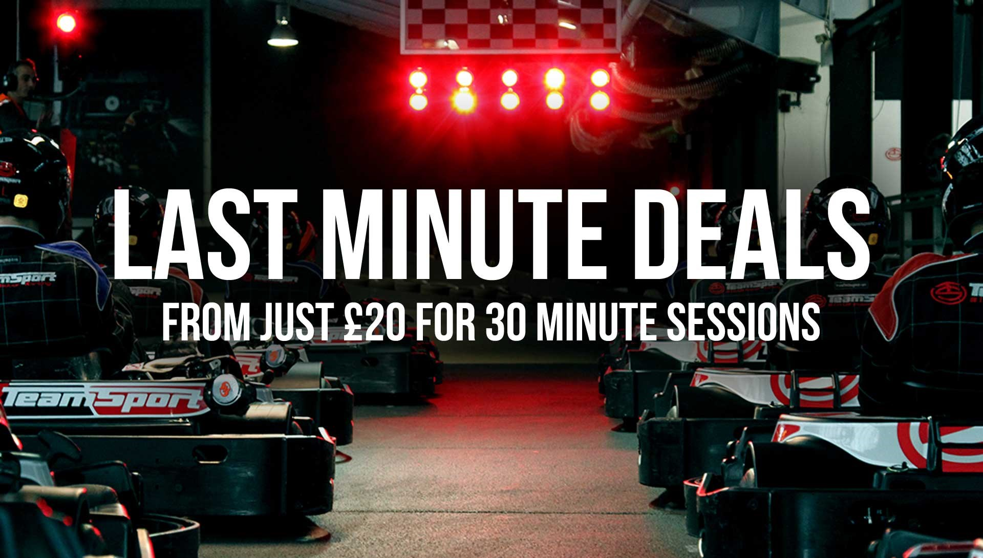 GO KARTING OFFERS - Last Minute Deals from £20