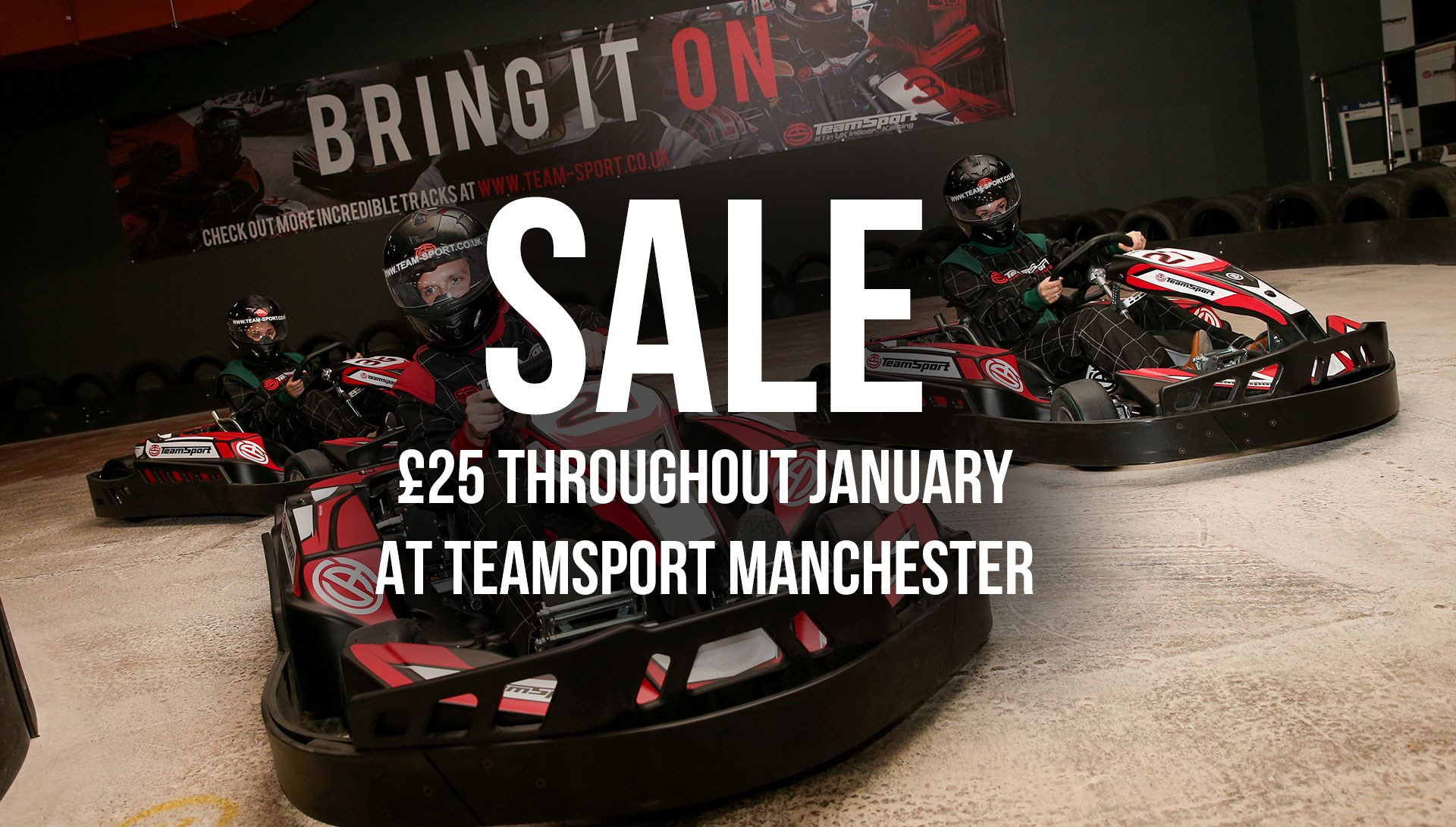 GO KARTING OFFERS - Manchester January Sale