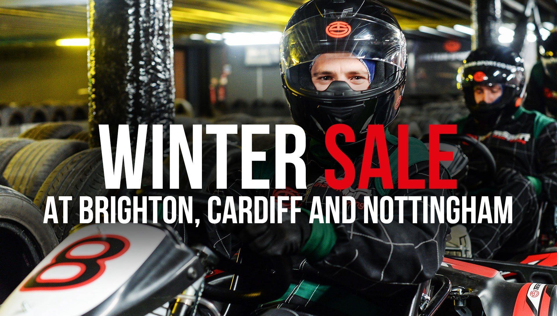 GO KARTING OFFERS - £25 Winter Sale