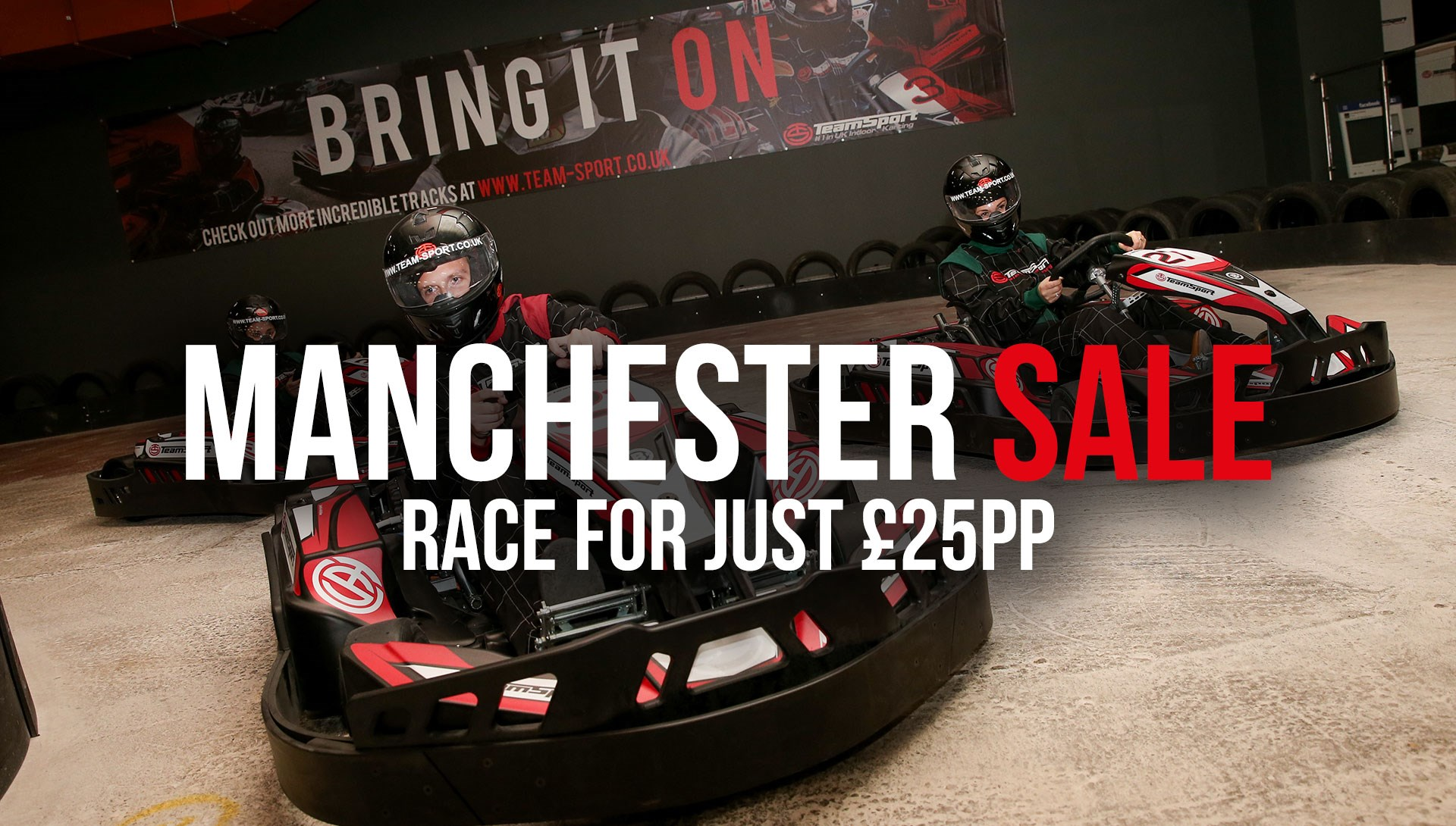 GO KARTING OFFERS - Manchester £25 Sale