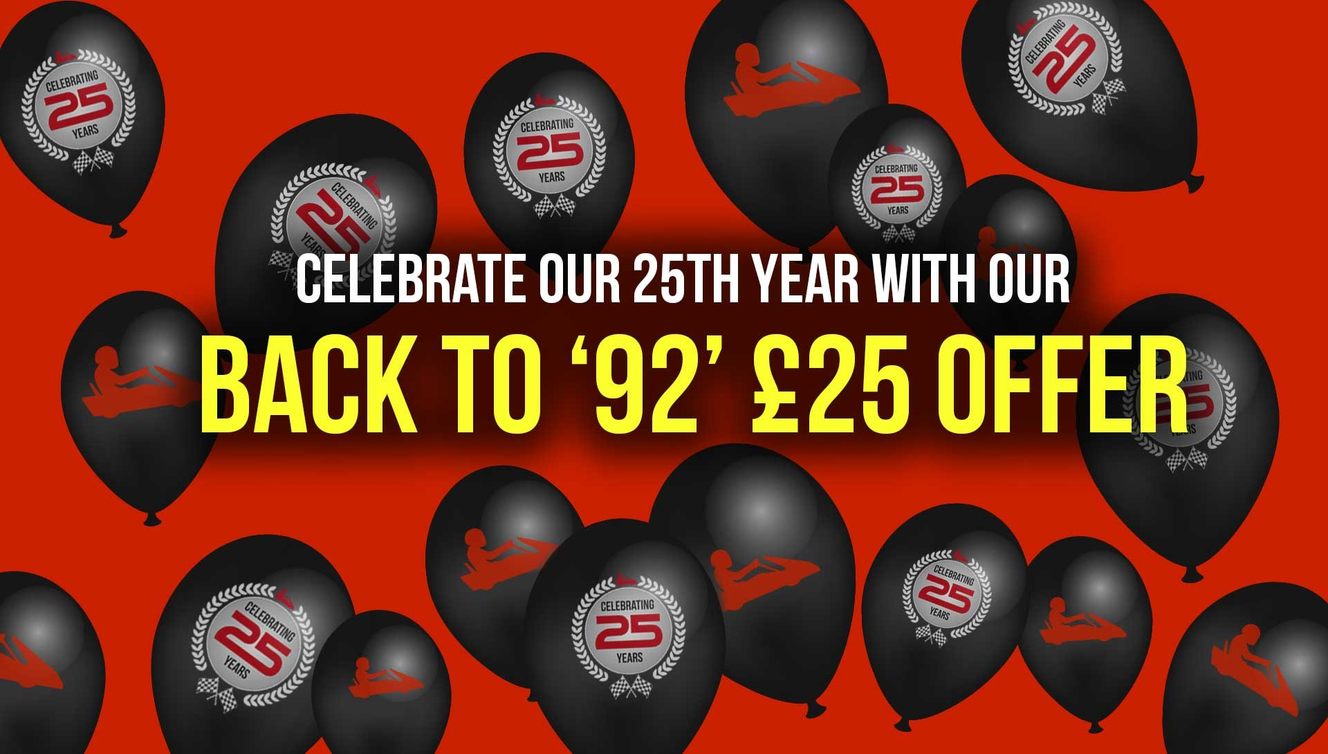GO KARTING OFFERS - Back to 1992 £25 racing