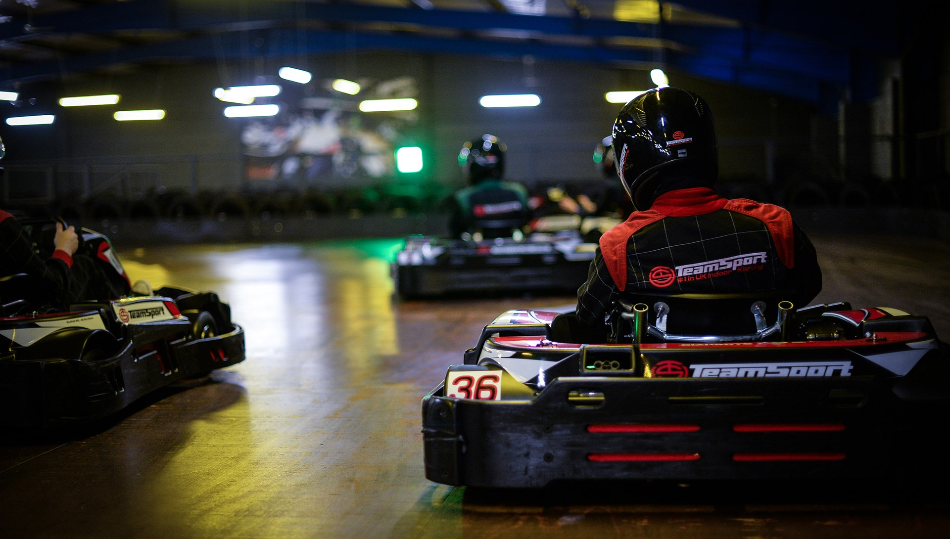 Adult Individuals & Adult Small Groups - Unlimited Karting