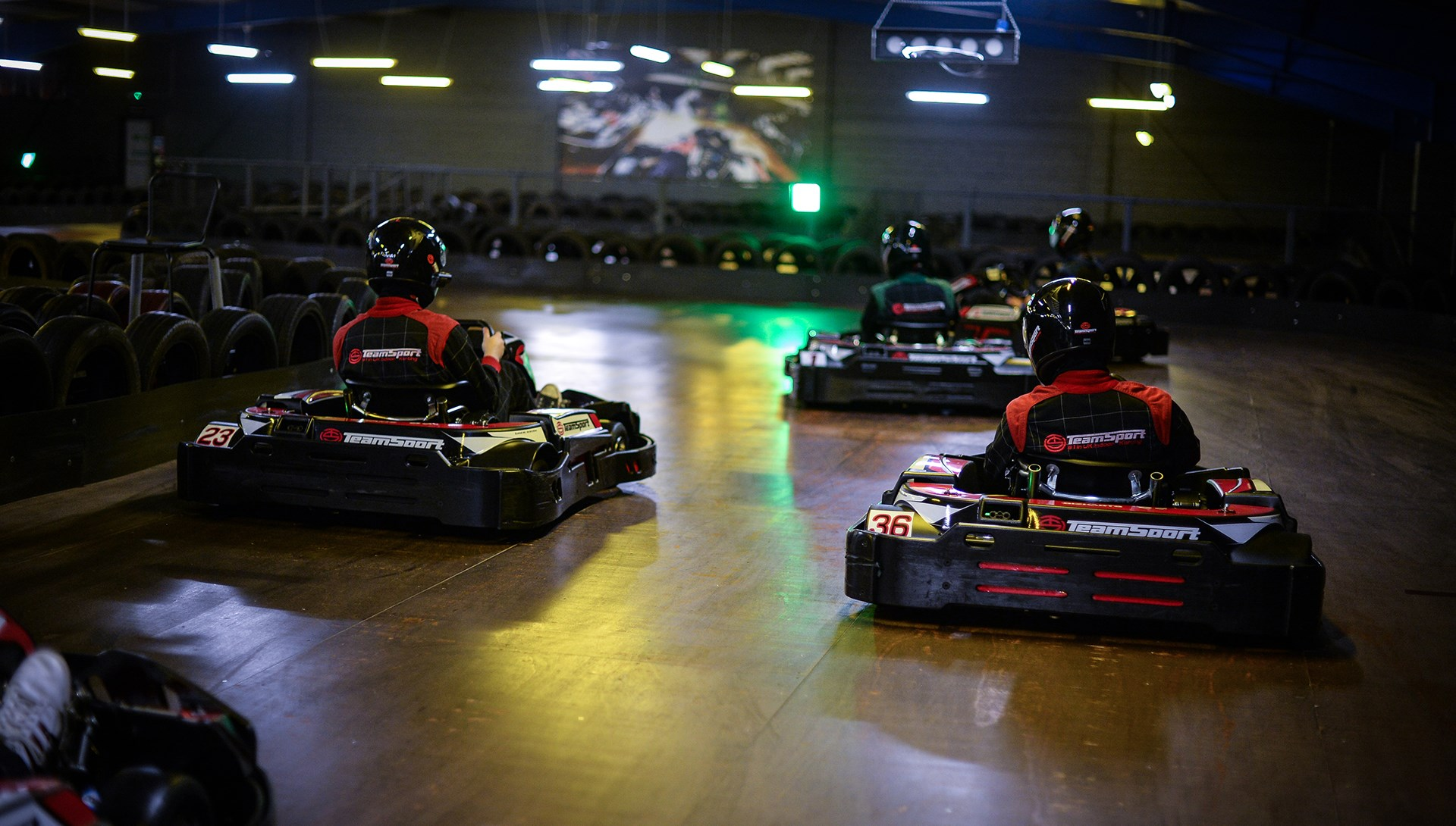 Go Kart Racing Events - Adult groups of 8+