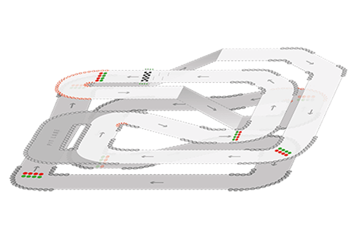 Track Layout of Harlow