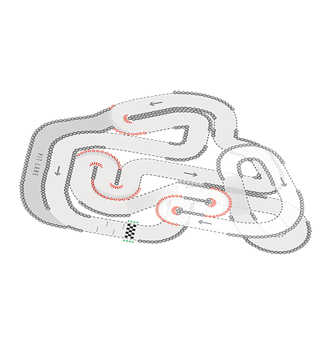 Track Layout of Birmingham