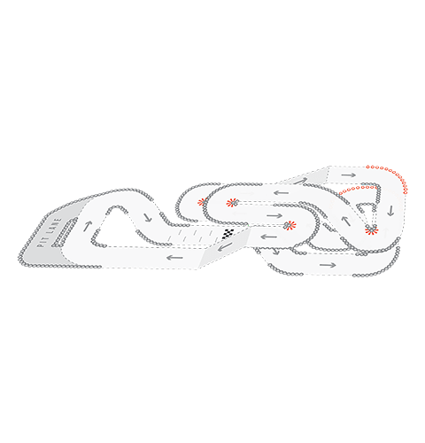 Track Layout of Bristol