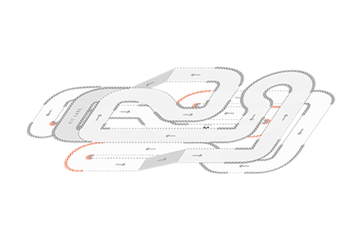 Track Layout of Dunstable