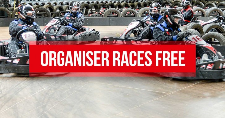 UNBEATABLE GO KARTING OFFERS - Organiser Races FREE