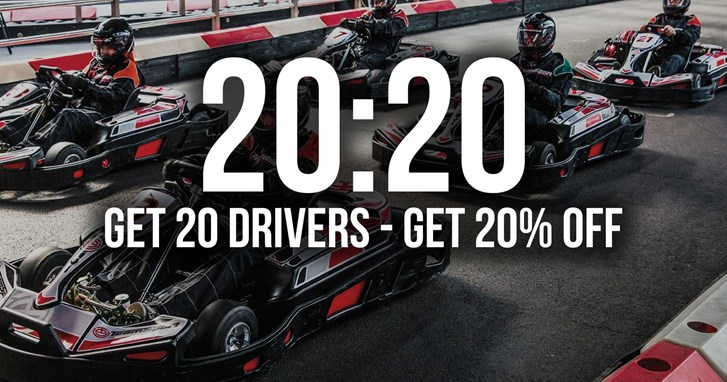 UNBEATABLE GO KARTING OFFERS - 20:20 Mondays