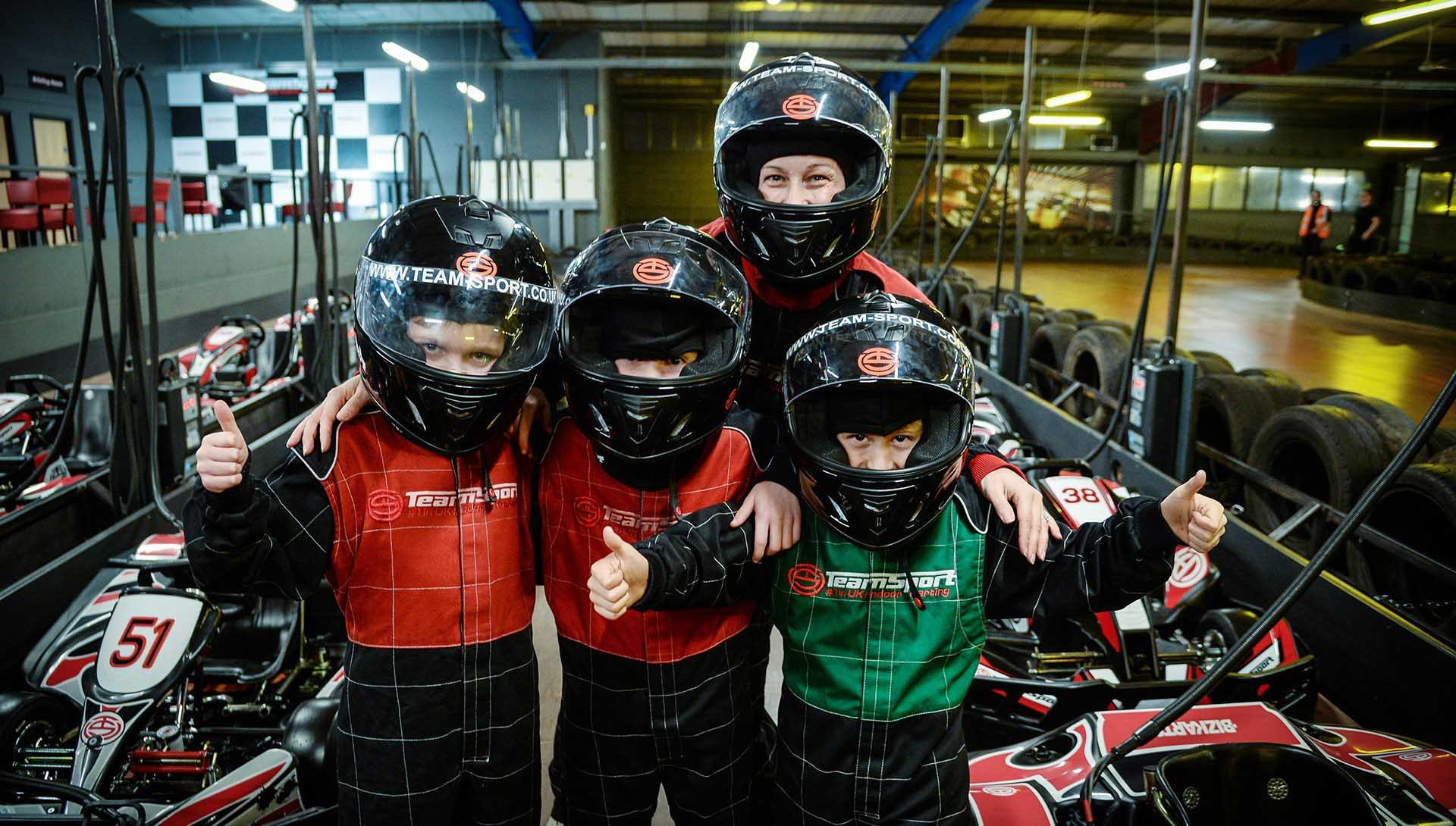 Kids & Family Go Karting