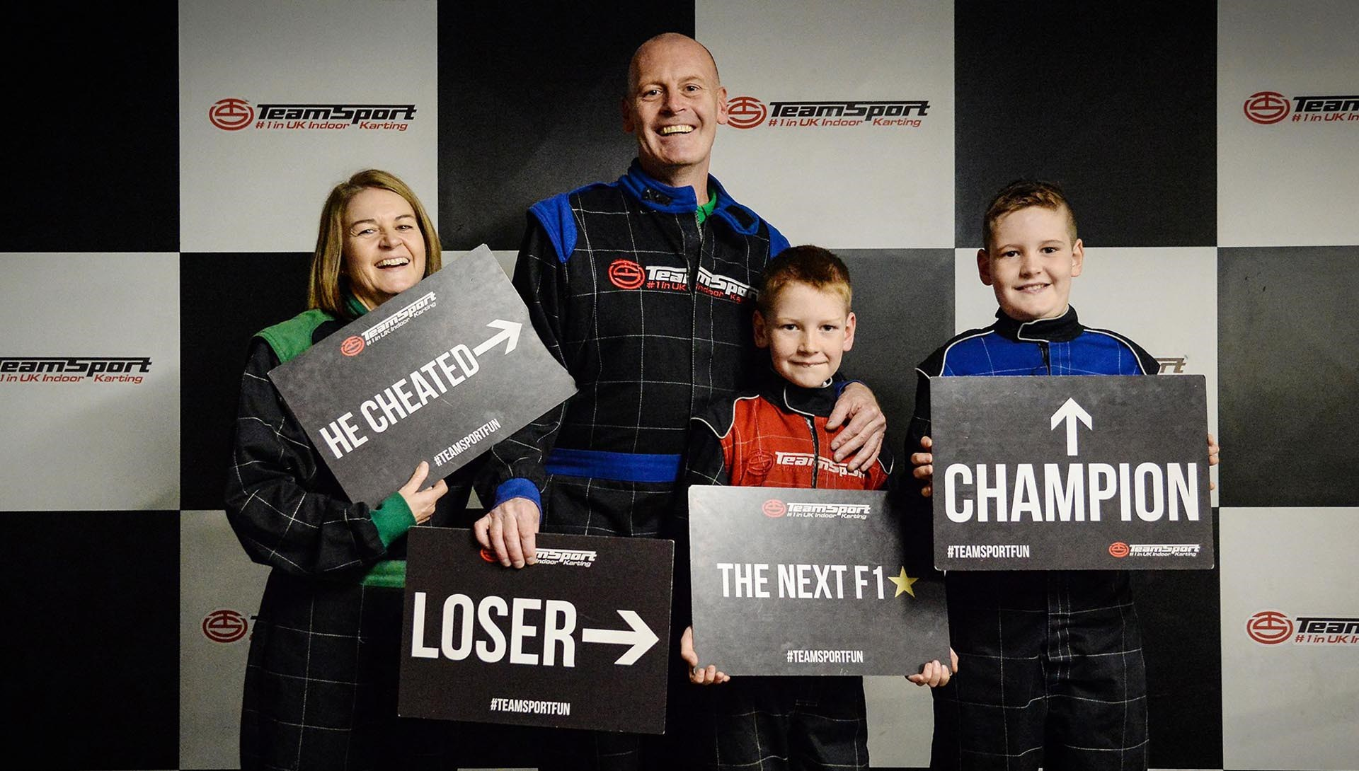 Kids & Families - Family Karting Madness