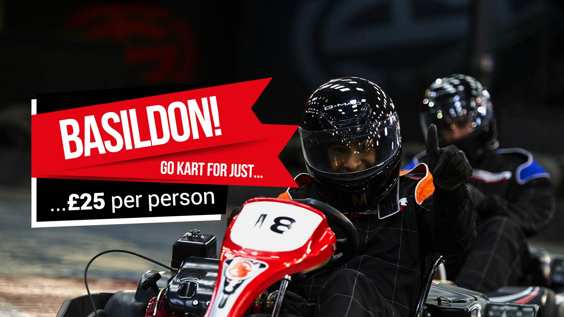 UNBEATABLE GO KARTING OFFERS - Basildon Opening Offer