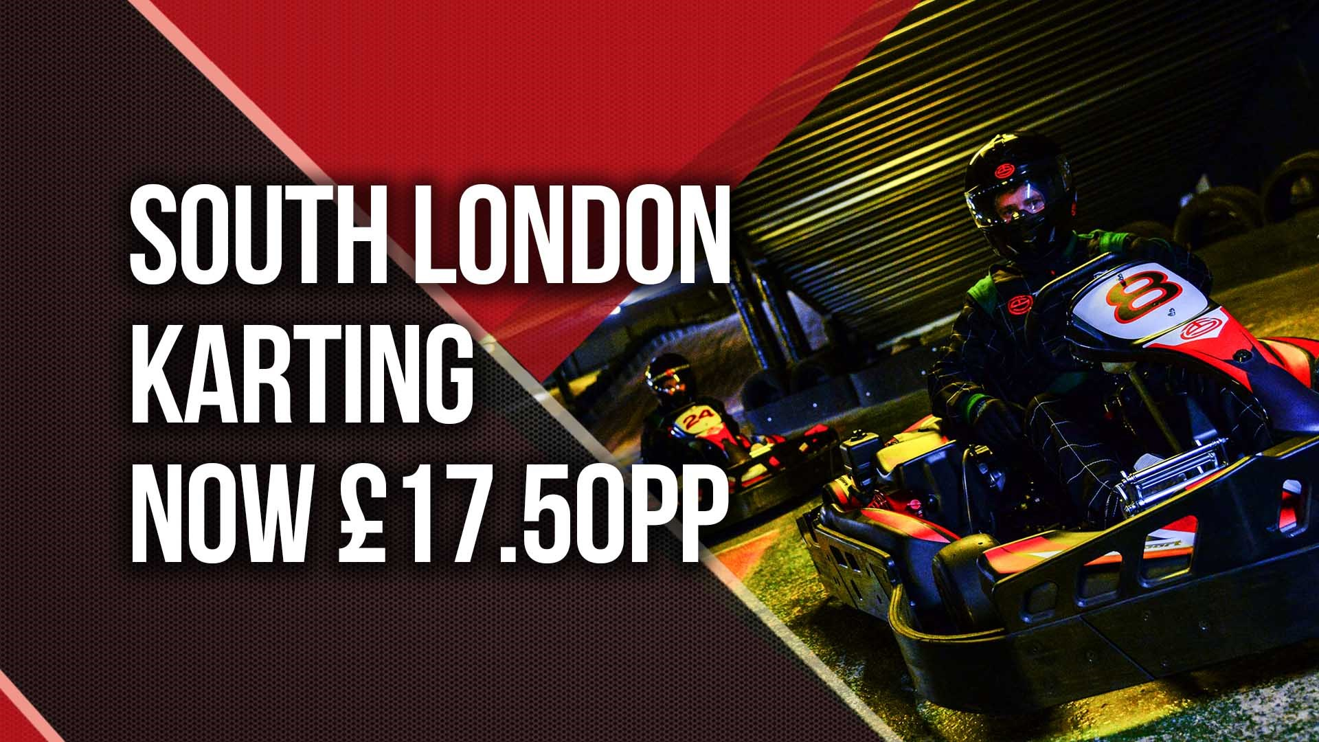 UNBEATABLE GO KARTING OFFERS - £17.50 Karting in South London