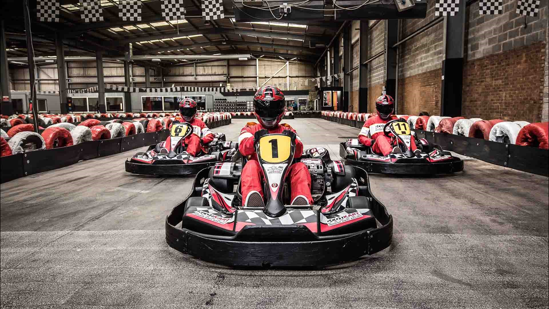 UNBELIEVABLE GO KARTING OFFERS - 4 for 3 on Race Sessions