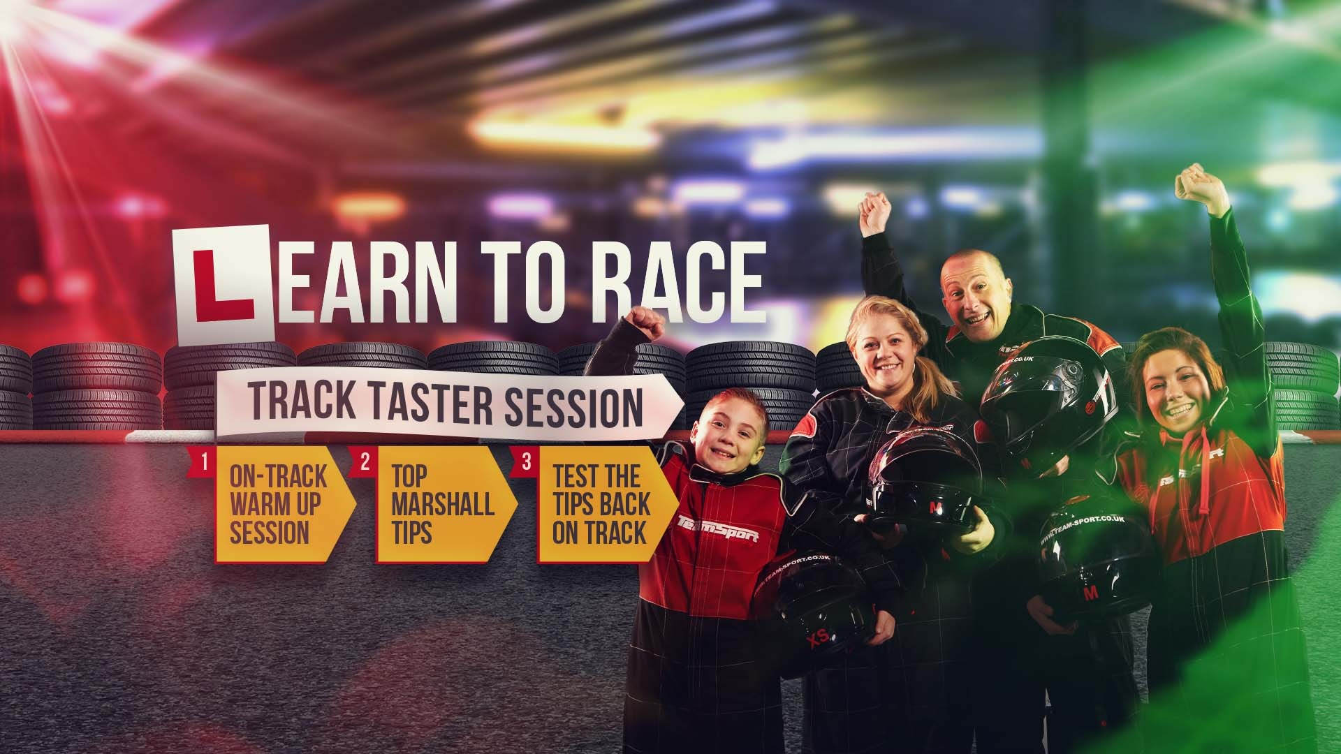 Kids & Families - Track Taster Sessions
