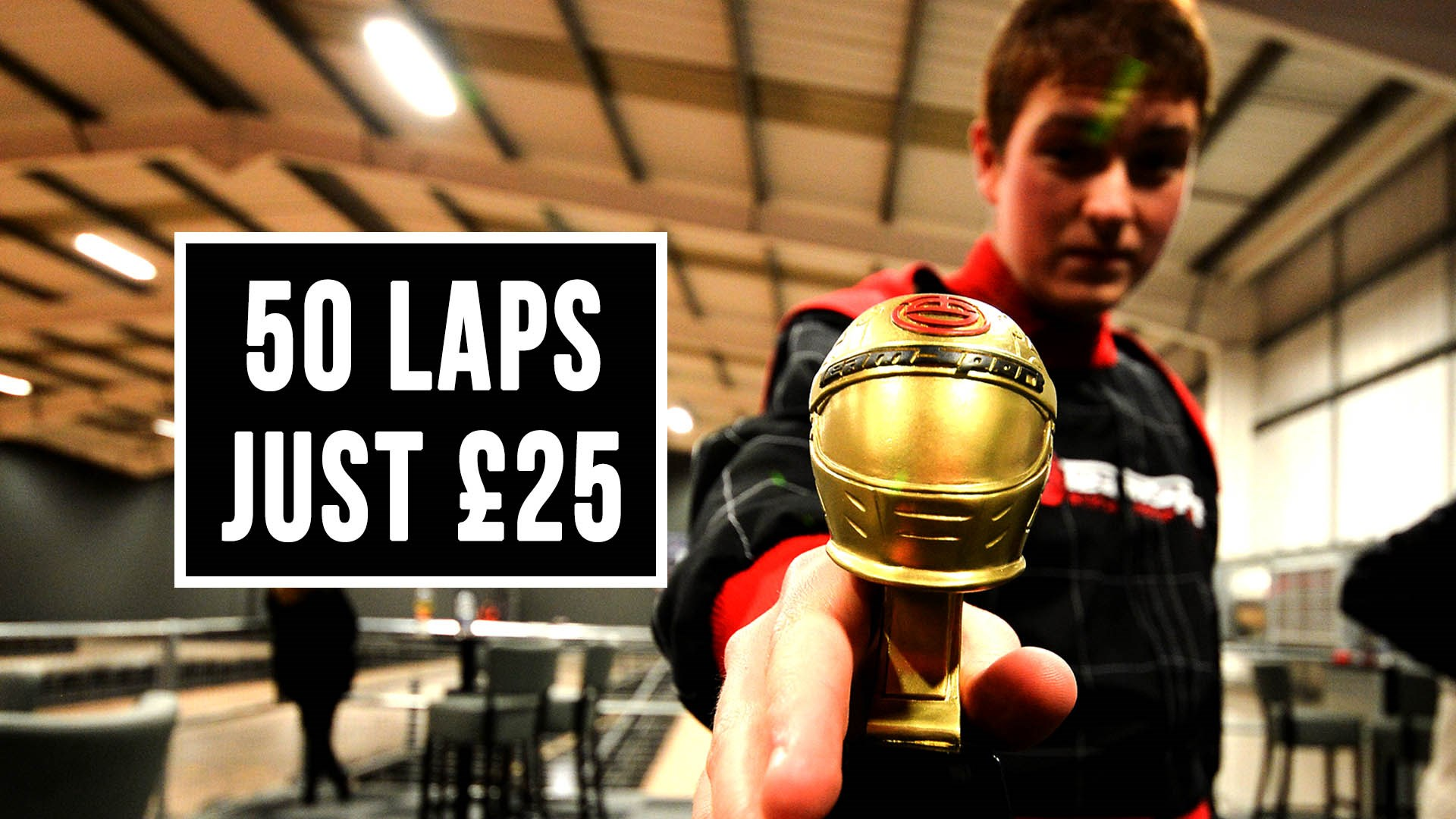 UNBELIEVABLE GO KARTING OFFERS - March's Special Offer