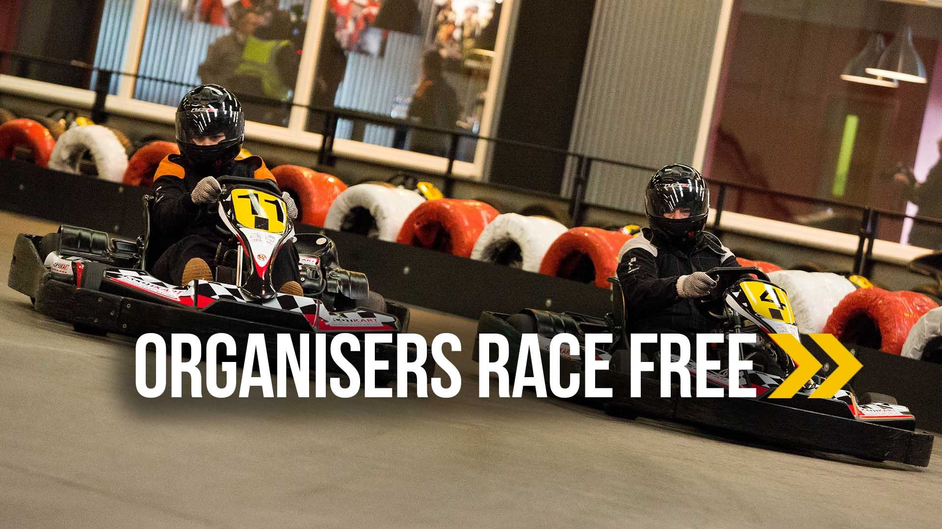 UNBELIEVABLE GO KARTING OFFERS - Organisers Race Free