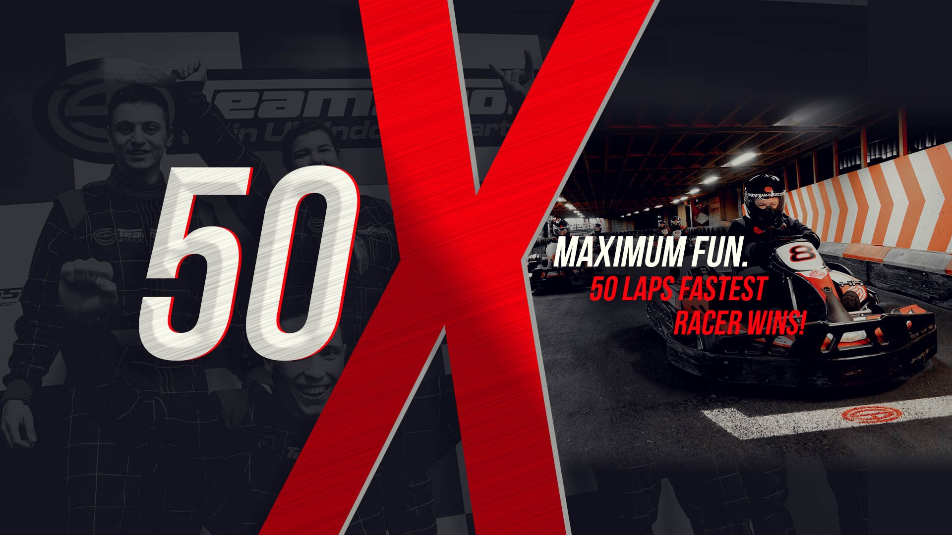 UNBEATABLE GO KARTING OFFERS - 50 Laps just £40pp