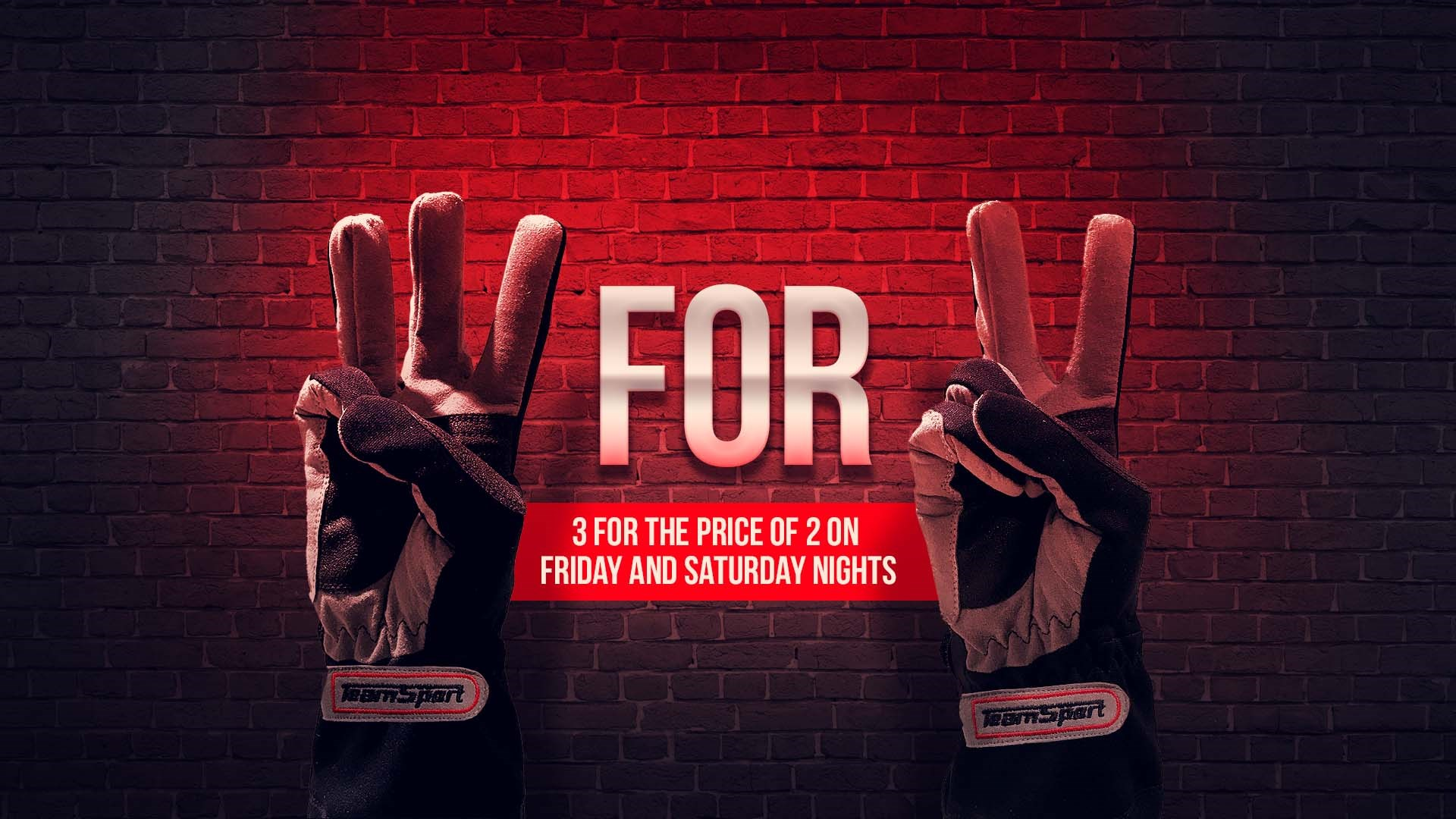 UNBEATABLE GO KARTING OFFERS - 3 for 2