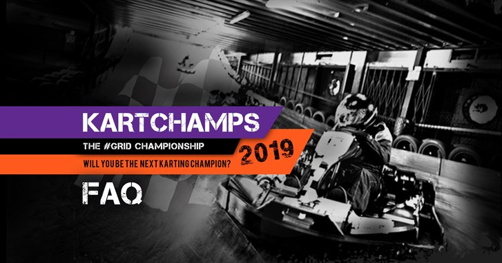 KartChamps 2019 - FAQ