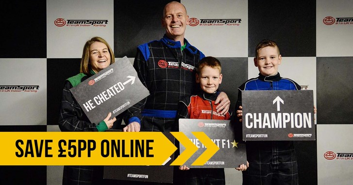 UNBEATABLE GO KARTING OFFERS - £5 Off Family Madness