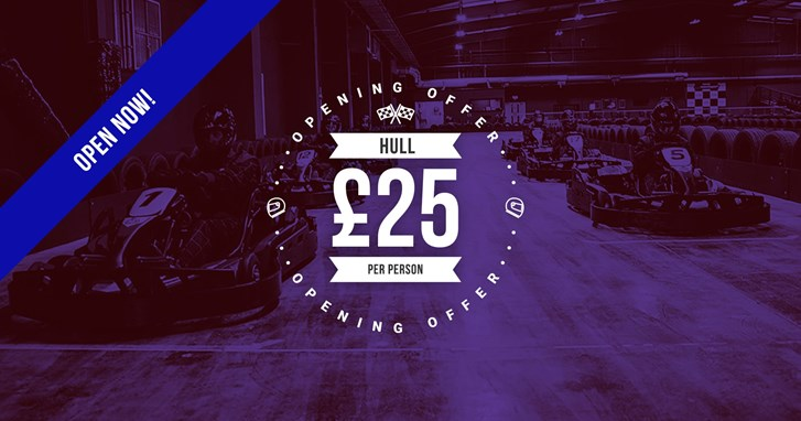 UNBEATABLE GO KARTING OFFERS - Hull Opening Offer