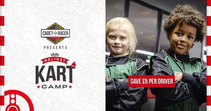 UNBEATABLE GO KARTING OFFERS - £5 off Holiday Kart Camps