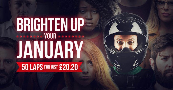 UNBEATABLE GO KARTING OFFERS - 50 LAPS FOR £20.20PP