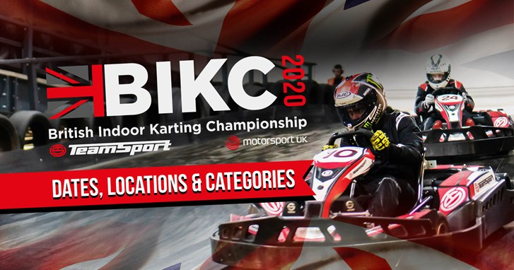 BIKC - British Indoor Karting Championship - Dates, Locations and Categories