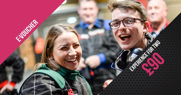 Go Karting Experience Gift Vouchers - Race Experience For 2 - e-Voucher